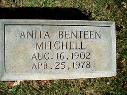 Anita <i>Benteen</i> Mitchell
