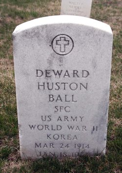 Deward Huston Ball