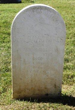 Gen David Rodes