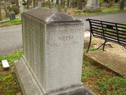 Gertrude Ritter Meem