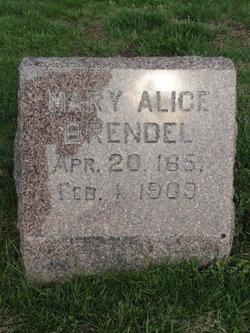 Mary Alice <i>Winkler</i> Brendel