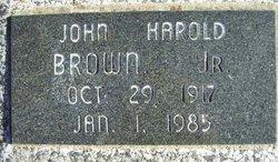 John Harold Brown, Jr