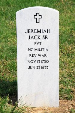 Jeremiah J. Jerry Jack, Sr