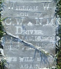 William Walter Driver
