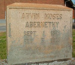 Arvin Moses Abernethy