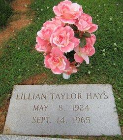 Lillian Florence <i>Taylor</i> Hays
