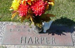 Otis W Harper
