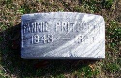 Frances Fannie <i>Fargis</i> Pritchett