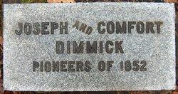 Comfort <i>Dean</i> Dimmick
