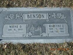 Marcene <i>Edwards</i> Benson