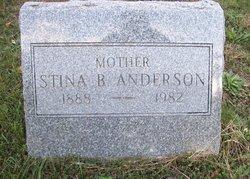 Stina Bertine <i>Iverson</i> Anderson