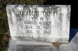 Elizabeth <i>Thrift</i> Cady