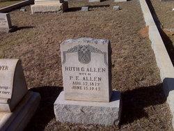 Ruth B <i>Glover</i> Allen