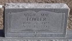 Addie Mae <i>Ruland</i> Creek Fowler
