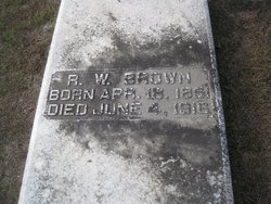 R W Brown