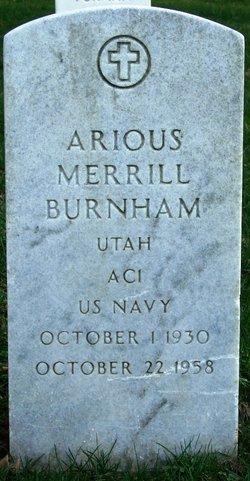Arious Merrill Merrill Burnham