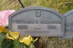 Susanna Davis Susie <i>Beal</i> Worcester