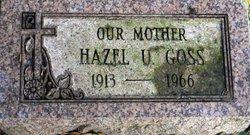 Hazel <i>Underwood</i> Goss
