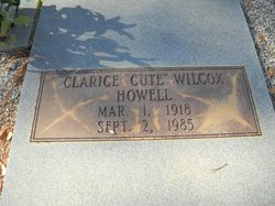 Clarice Cute <i>Wilcox</i> Howell