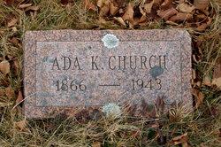 Ada Roxy <i>Kelley</i> Church
