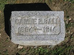 Carrie E <i>Fiske</i> Ball