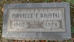 Orville F Booth, Sr
