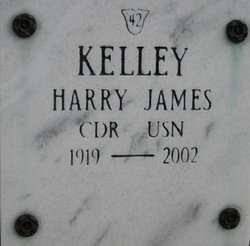 CDR Harry James Kelley