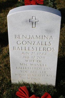 Benjamina Benjie <i>Gonzales</i> Ballesteros