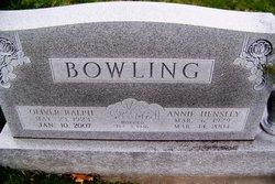 Annie <i>Hensley</i> Bowling