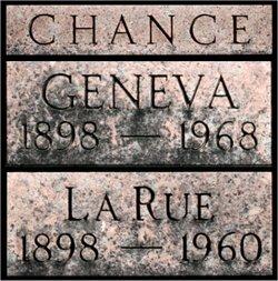 Geneva Pauline <i>Geiger</i> Chance