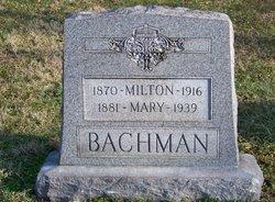 Mary <i>Schaller</i> Bachman