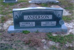 Ada Amanda <i>Ashcraft</i> Anderson