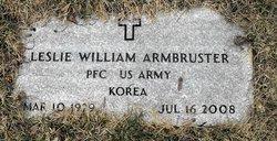Leslie William Armbruster