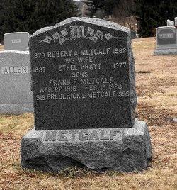 Frank E Metcalf