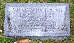 Minnie <i>Schaff</i> Dunn