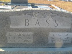 B Earnest Bass