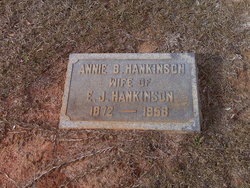 Annie Mae <i>Brooks</i> Hankinson