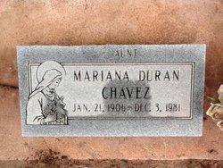 Mariana <i>Duran</i> Chavez