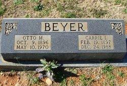 Otto M Beyer