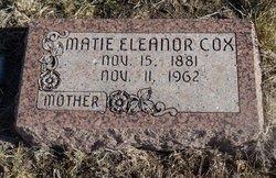 Mattie Eleanor <i>Warrick</i> Cox