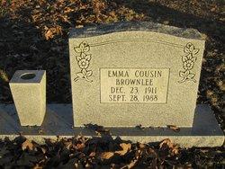 Emma <i>Cousin</i> Brownlee