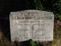 Eleanor Bowles <i>Armistead</i> Anderson