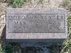 Dorothy Jane Baxter