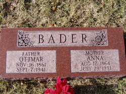 Anna <i>Maier</i> Bader