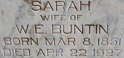 Sarah Luesa <i>McKelvey</i> Buntin