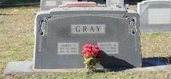 Martha Ann Mattie <i>Denson</i> Gray