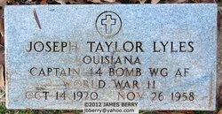 Capt Joseph Taylor Lyles