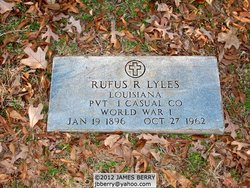 Pvt Rufus R Lyles