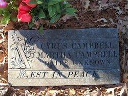 Sarah Martha <i>Cornutt</i> Campbell