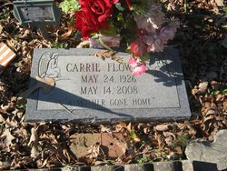 Carrie May <i>Morgan</i> Flowers